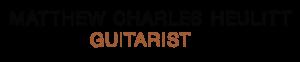 Matthew Charles Heulitt Guitar